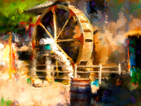 Virtual Painting - Waterwheel